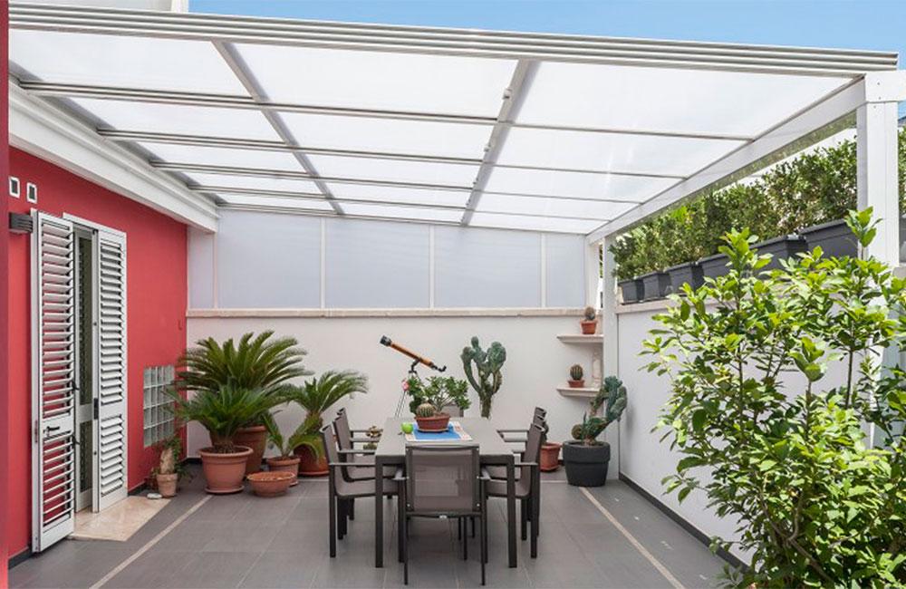 Techos artenfinestres for Cubiertas transparentes para techos